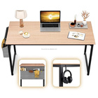 Furniture Computer Industrial Desk L-Shaped Corner Table Furniture Industrial Wood And Metal Sturdy Computer Desks