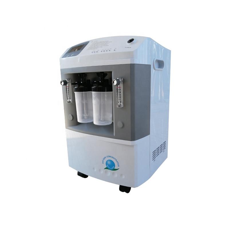 Hot Sale 10LPM Medical Dual Flows Oxygen Concentrator