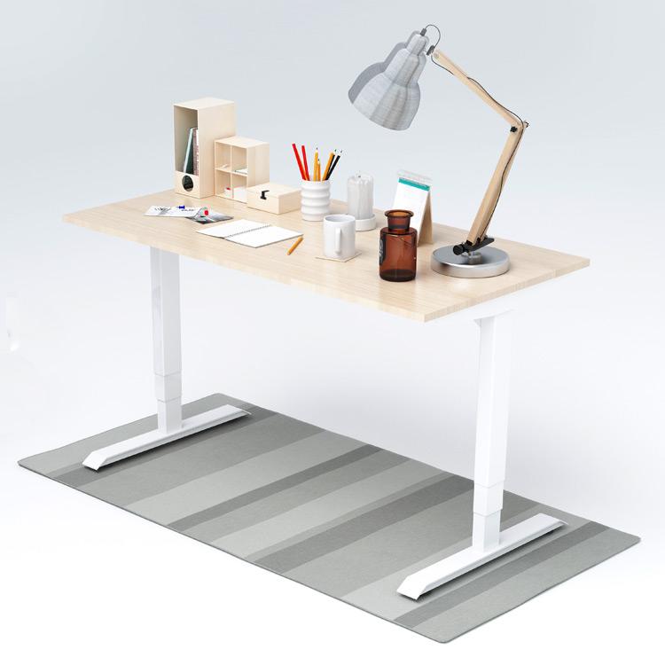 Оптовая продажа, стол с регулируемой высотой, Электрический офисный стоечный компьютерный стол для Индии