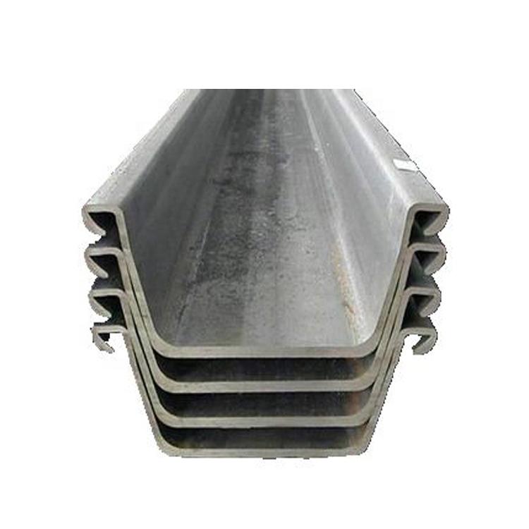 U نوع لوح فولاذي كومة مع 345mpa