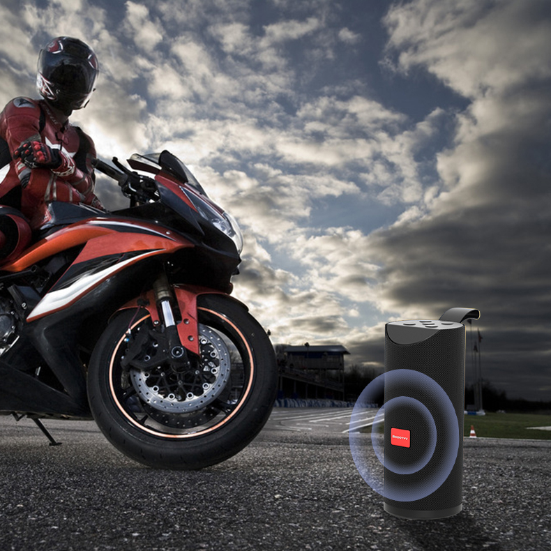 Беспроводной настольный бас портативный динамик Caixa De Som для мотоцикла велосипеда