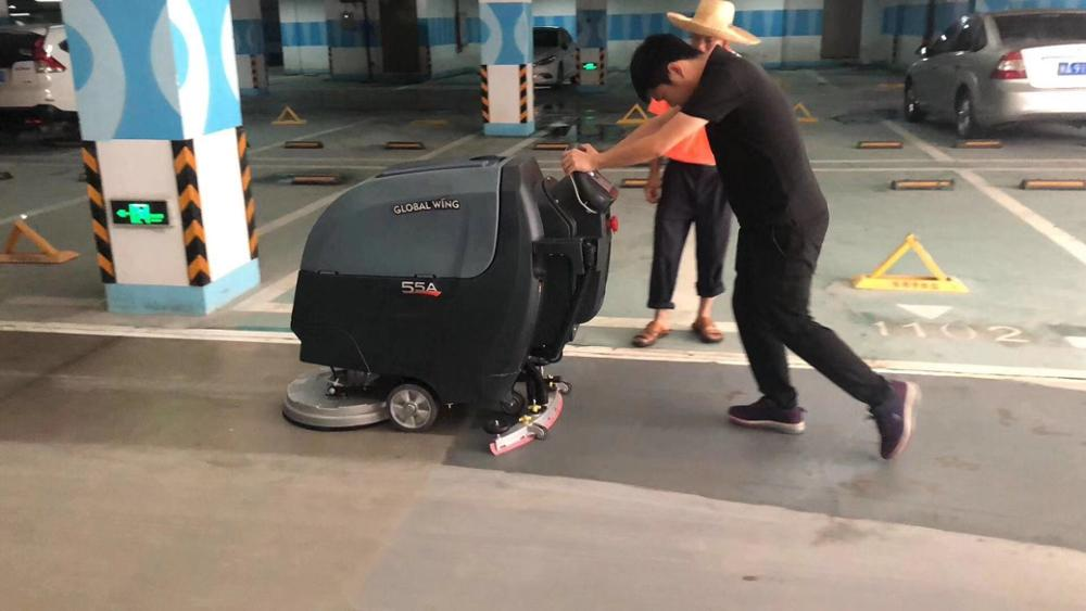 Dryer Washing Marble Walk Behind Floor Scrubber Floor Cleaning Machine Wholesale