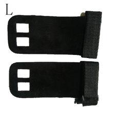1 пара рукоятка защита ладоней Тяжелая подтяжка Синтетическая кожа фитнес-гимнастика защита выдвижная штанга поддержка запястья(China)
