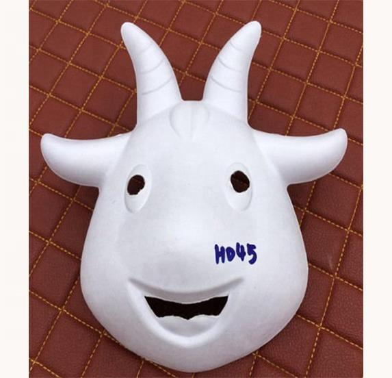 Отличное качество, Неокрашенная маска для лица из целлюлозы