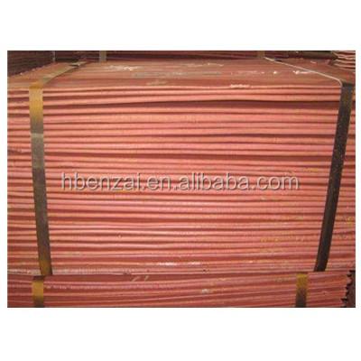 Copper Cathode Copper Factory Price Pure Copper Cathode 99.9995%