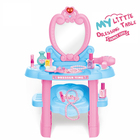 2021 Hot Selling Children Pretend Play Set Kids Plastic Dressing Makeup Table Toy