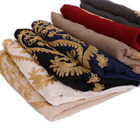 2020 New Lady's women girls Cotton Embroidered Scarf Factory Sells embroidery Cotton Hijab Scarf