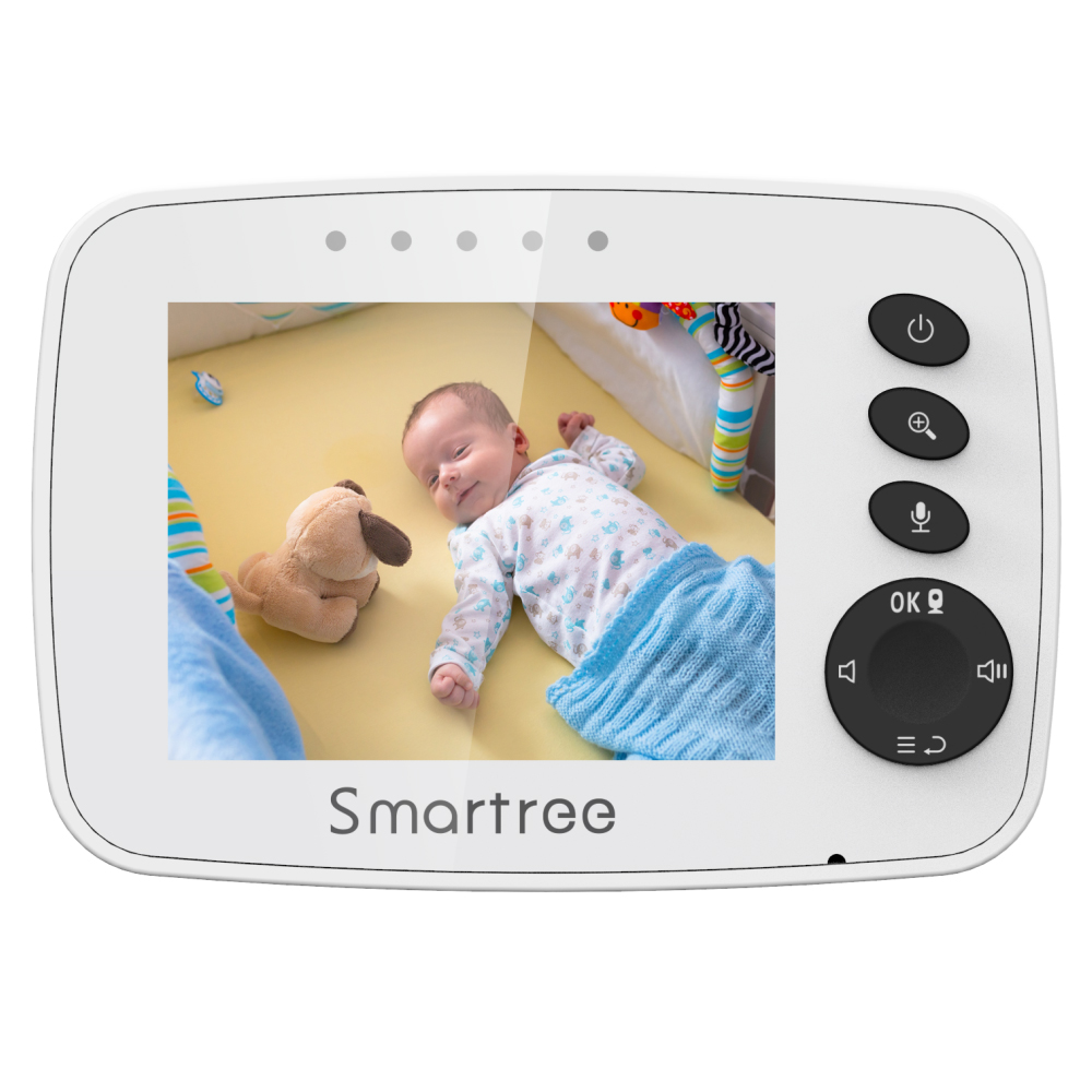 Long range two way talk baby activity panoramic smart all in one hello baby wireless video baby monitor
