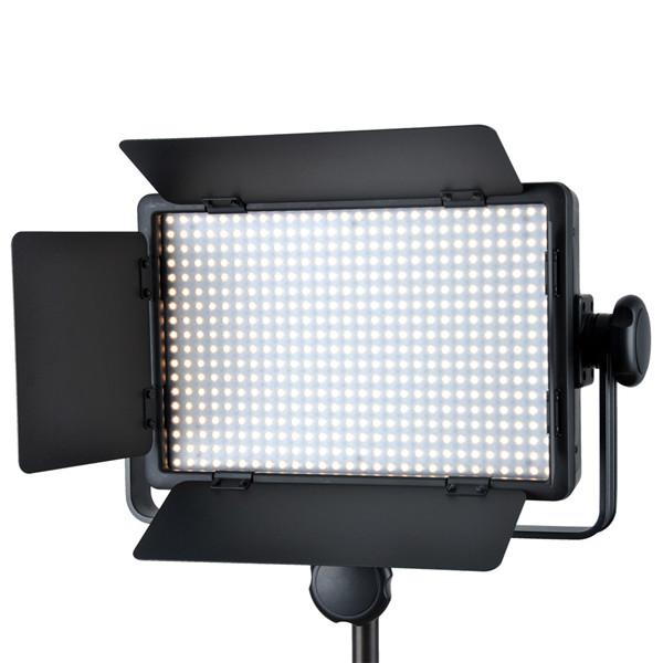 brand-new 2X Godox LED500LR Studio LED Video Continuous Light 3300-5600K godox led light panel for video