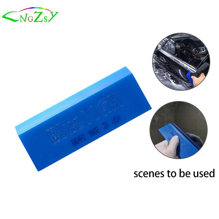 Скребок для мытья автомобиля Bluemax, резиновый скребок для окон, скребок для стекол, очиститель стекол, виниловые тонировочные инструменты