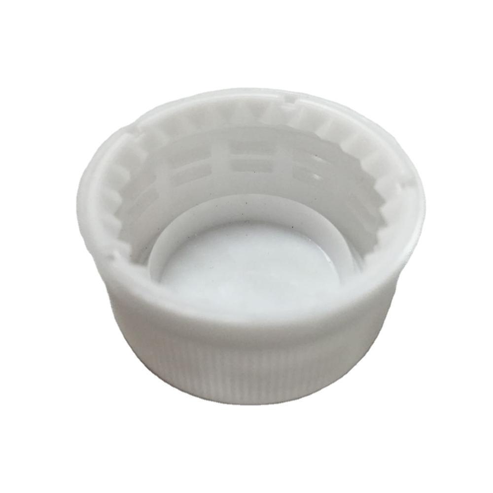 PE plastic cap 28MM short neck cap for spring water PCO1881