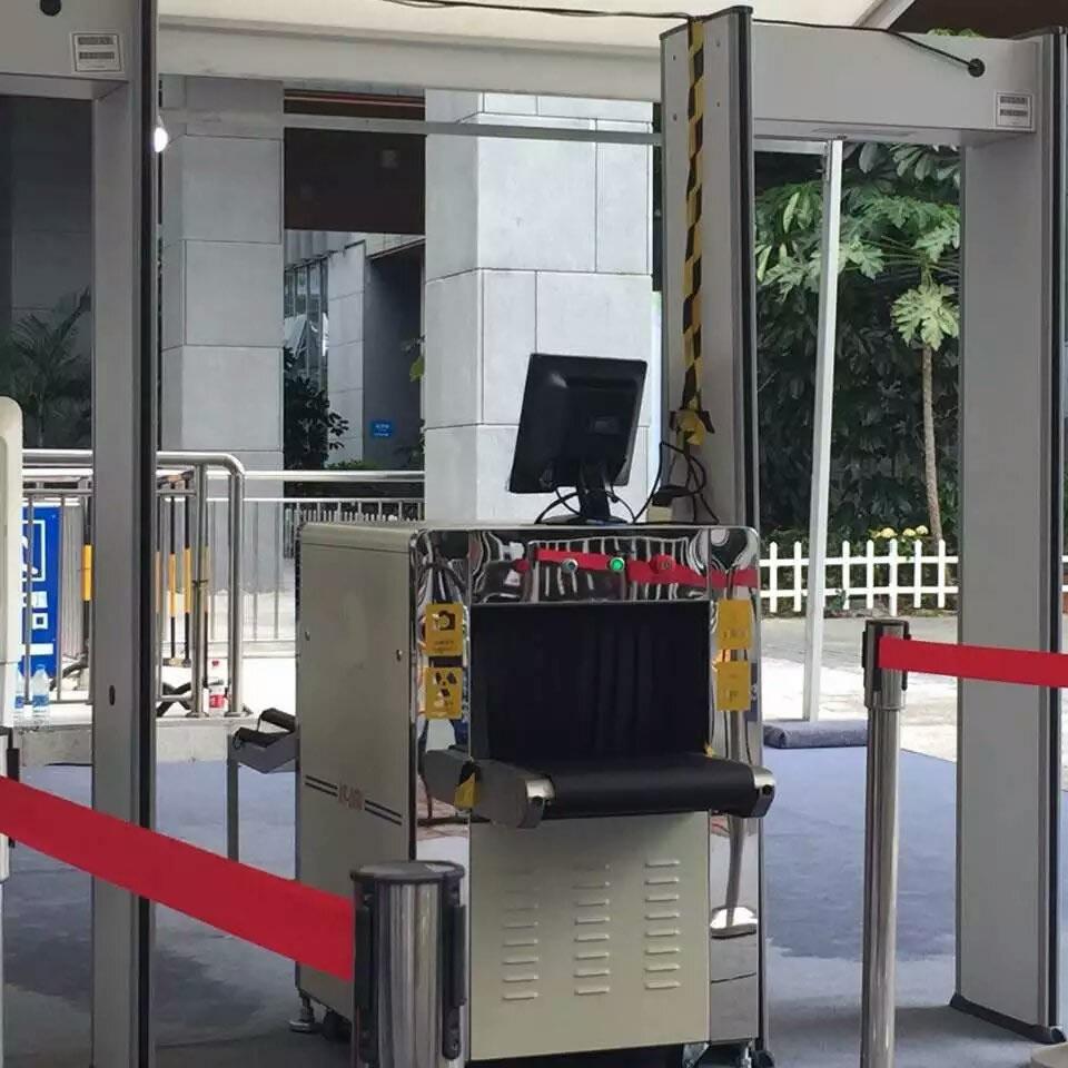 Сканирование посылок в аэропортах и станциях, рентгеновский сканер багажа