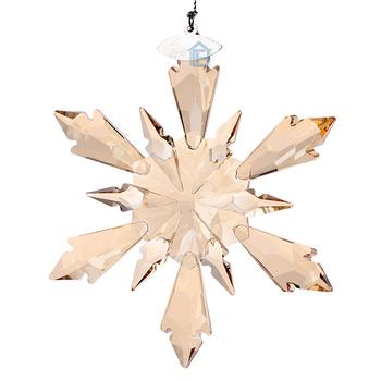 Large K9 Crystal Snowflake pendant used for Christmas Ornament Christmas tree Decor