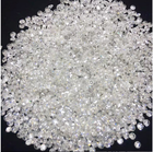 Stone Loose Stone Synthetic Diamond Small Sizes GH Color 0.8mm-3.0mm 10 Points White Melee Moissanite Diamond