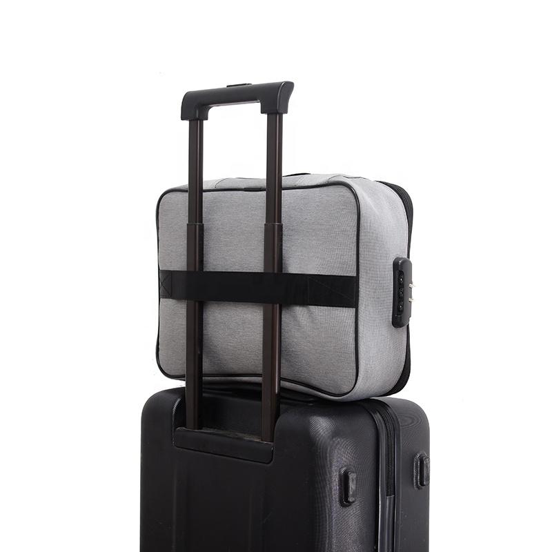 3 слоя многофункциональный переноски Большая Дорожная сумка для хранения держатель для документов, с замком и ключом