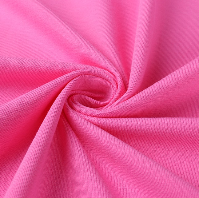 Leesourcing---Baby Cloth 65%Bamboo 30%Organic Cotton 5% Spandex Plain Dyed  Single Jersey knit Fabric