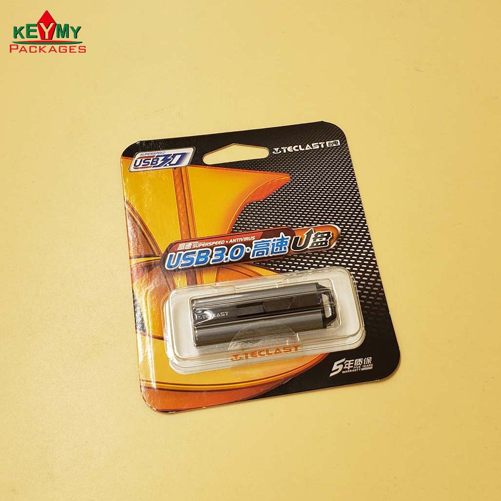 Самая популярная Высококачественная упаковка USB 3,0 в блистере с картой