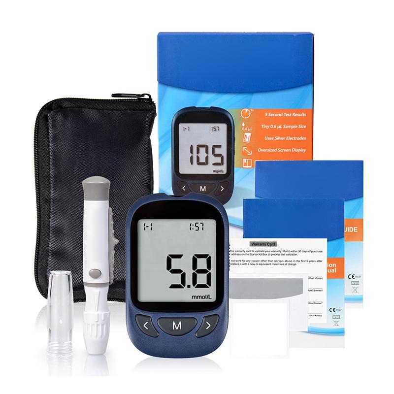 Оптовая продажа, Цифровой глюкометр с большим экраном для пожилых людей