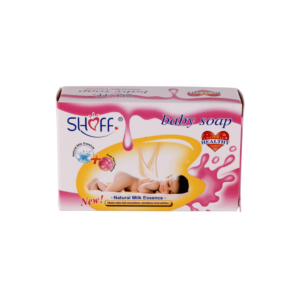 Shoff Baby Soap 100g Natural Skin Whitening Bath Nourishing Alcohol Free Foam Baby Soap For Basic Body Cleaning