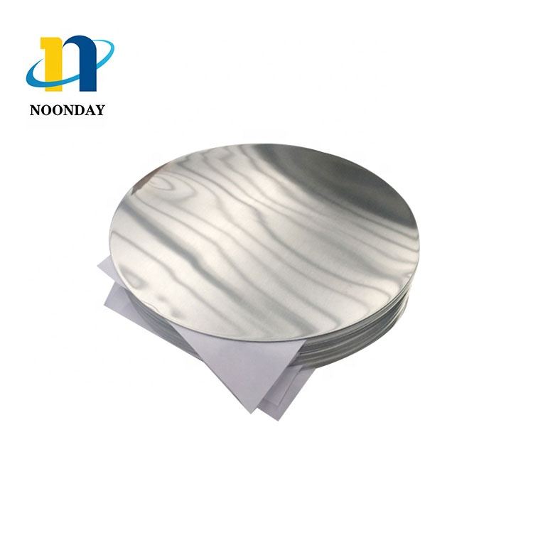 Sublimation blank aluminum circle 5052 aluminum circle plate for pan and road sign