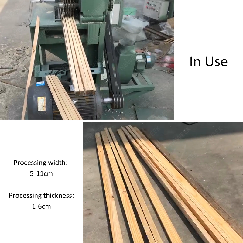 NEWEEK 5-11cm processing width wood thicknesser and planer four side moulder