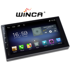Dvd Player Car Radio WINCA Top3 Factory High Quality OEM ODM WIFI Carplay Radio 1 Din Hot Sales IPS Frame Andoid WINCE Universal Car Dvd Player