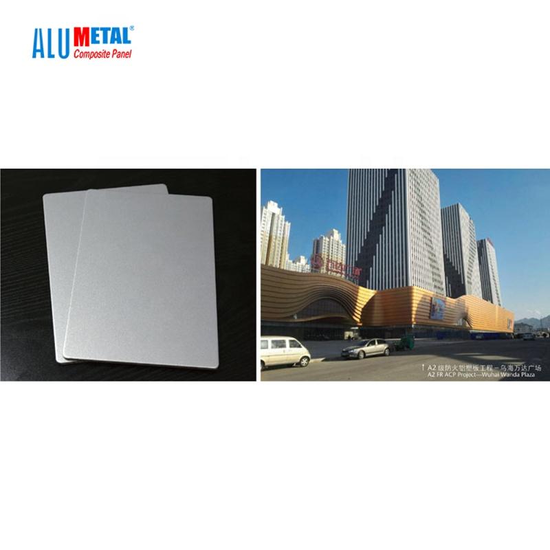 Декоративный строительный материал B1 A2 огнестойкая Изолированная ACP настенная алюминиевая композитная панель
