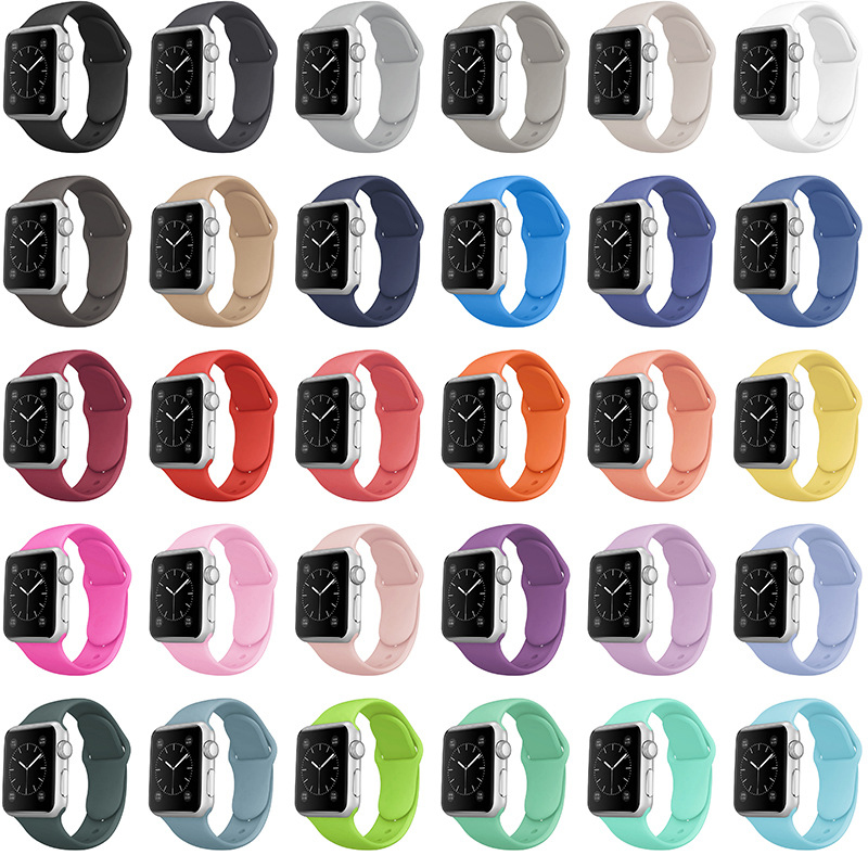 Smart watch t500 band 42mm 44mm band smart Silicone 38mm apple watch band strap