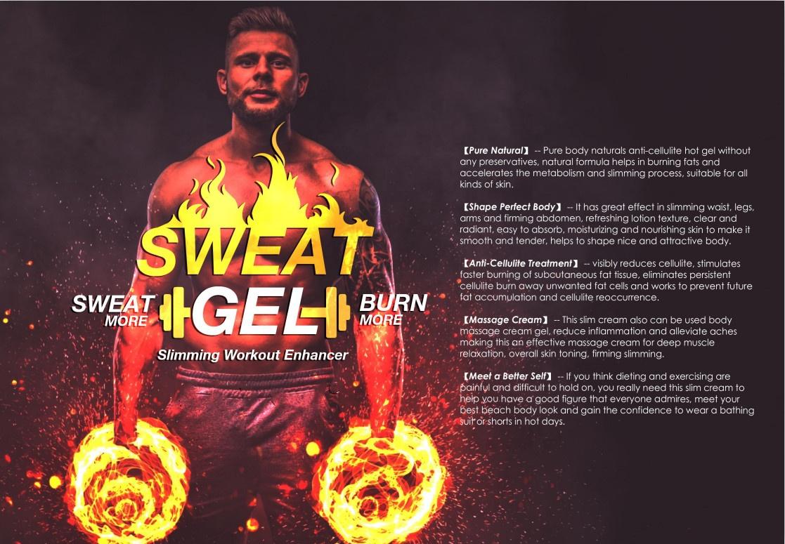 Фирменный гель для похудения, крем-усилитель для похудения и тренировок с кокосовым маслом, крем для похудения, сжигающий жир