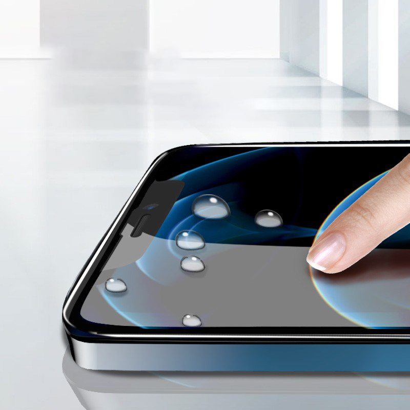 Wholesale Dustproof and Anti-peeping Iphone 7-12 Iphone X Screen Protector Tempered Glass Privacy