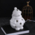 Chinese factory manufactory unique snowman design ceramic led night light