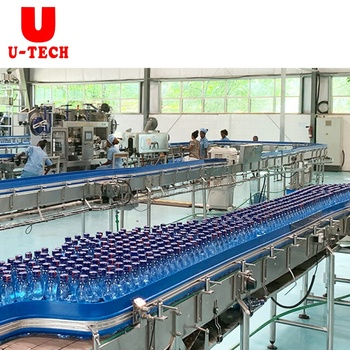 Full Automatic 3 in 1 Bottled Pure Mineral Spring Drinking Water Washing Filling Capping Machine Equipment Production Line Price