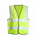 Best New Vest High Visibility Vest 2020 Best New Blue Vest With Reflective Band For High Visibility At Night