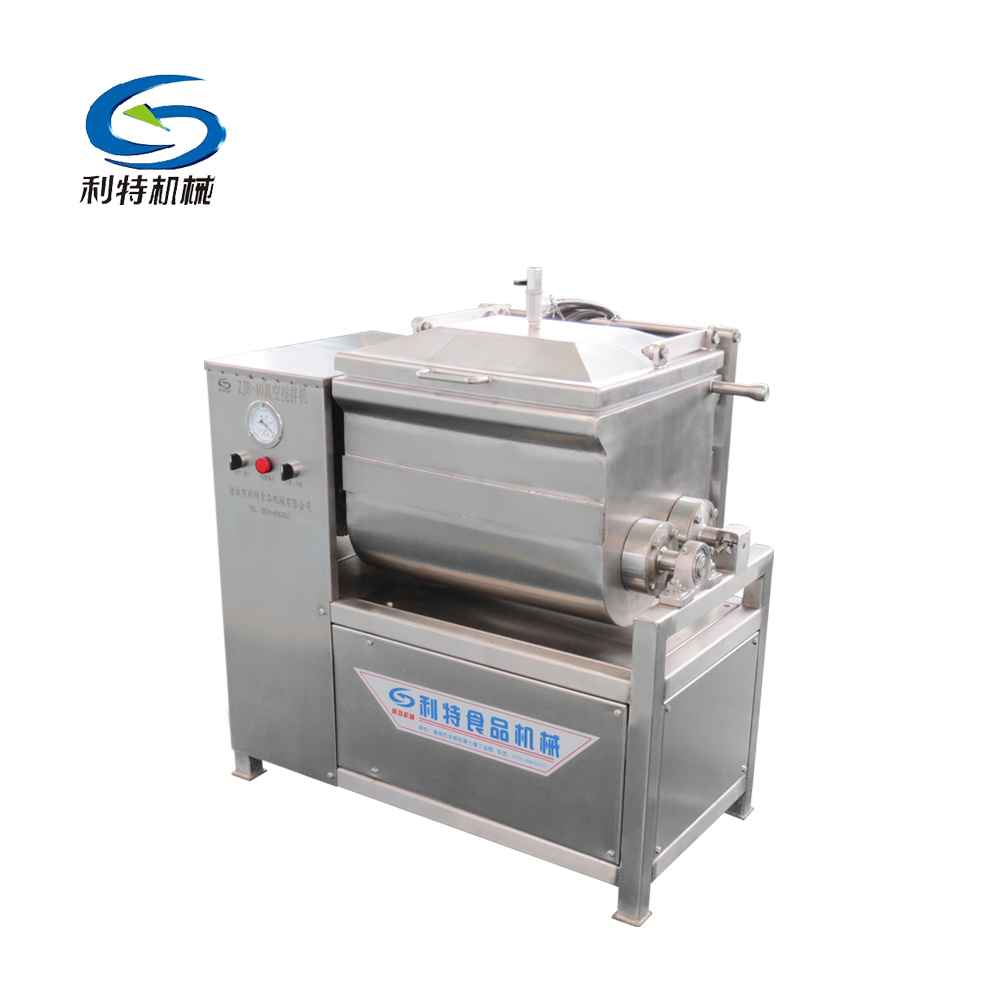 Professional export vacuum food meat stuffing mixer
