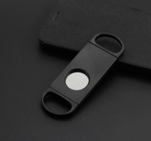 Металлический нож для сигар с двумя пальцами, резак из нержавеющей стали высокого качества, инструмент для сигар, аксессуары, горячая распродажа