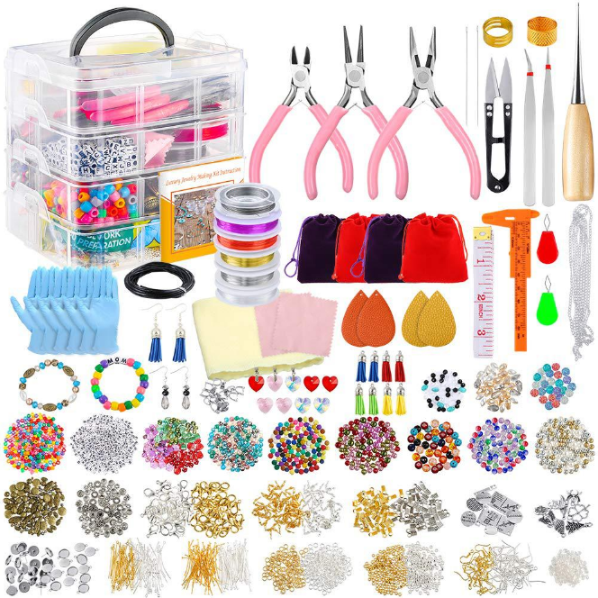 Amazon accessories tool set and findings jewelry sets for DIY