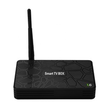 Новейшая сеть Smart TV box X6 WIFI OTT IPTV 1G + 8G HD 4K Android TV Box