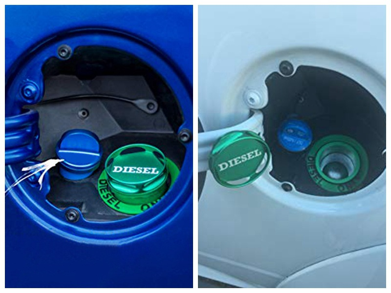 Cross-border hot selling car 13-18 oil cap is suitable for Dodge Ram diesel cover aluminum alloy oil cap