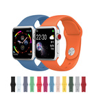 Silicone Band 4 Single Color Silicone Watch Band For Apple Watch Series 4 5 Fashion Apple Watch Band Silicone