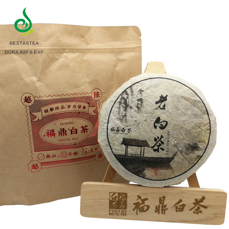 Factory bulk price Tuocha 100grams Fuding baicha bing Gongmei Fuding compressed white tea cake - 4uTea | 4uTea.com