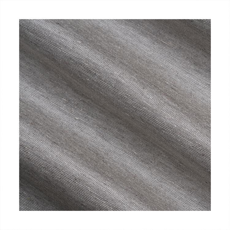direct new special design customizable dress fabric cheap hemp fashion fabric