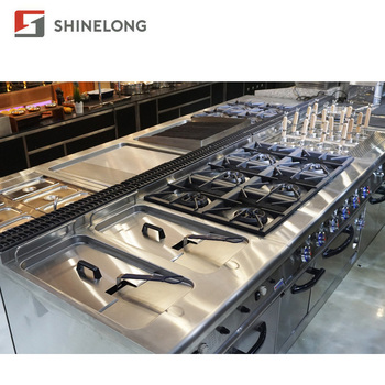 China / Dubai / Arabic Industrial Hotel Banquet Catering Restaurant Buffet Kitchen Equipment For Sale