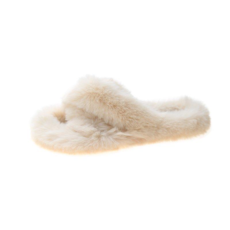 Сандалии с леопардовым рисунком кролика, дизайнерская женская обувь, меховые тапочки, женские мягкие тапочки из норковой шерсти