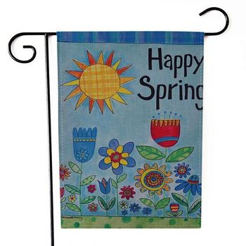 Wholesale Polyester Printed Cheap Custom Garden Flags Maker