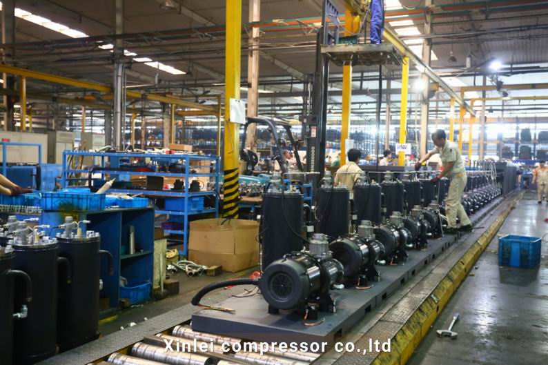 20HP 15KW xinlei screw air compressor XLAM20A-tt6