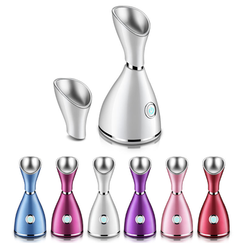 Professional high quality moisture mini facial steamer with warm vapor With a heating up features