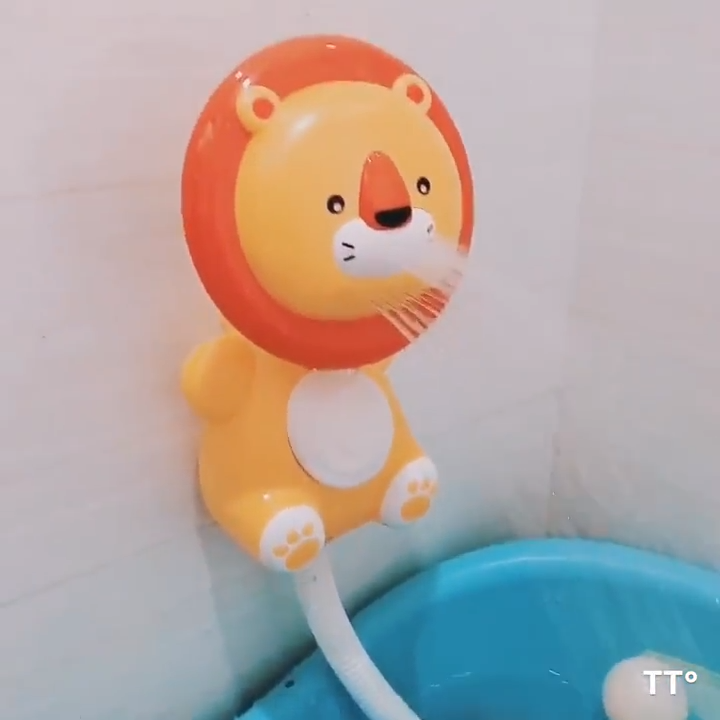 Животный Электрический Душ assist детские в купальный малышей игрушки для купания всплеск игрушки для ванной