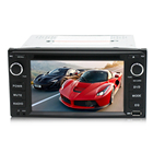 2 din 6.2 inch DVDFM USB SD car dvd radio player for universal Toyota with bT