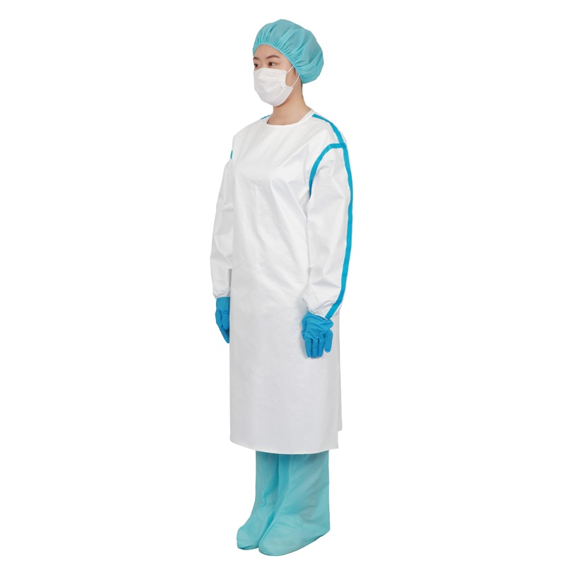 Professional Disposable Waterproof Medical Use Hospital Use PE PP CPE High Quality Isolation Gowns - KingCare | KingCare.net