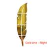 72*18 cm Gold -- right